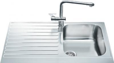 Мойка кухонная Smeg LPD861S - общий вид