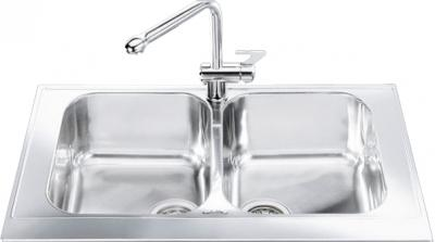 Мойка кухонная Smeg LPD862 - общий вид