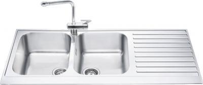 Мойка кухонная Smeg LPD116D - общий вид