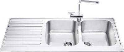 Мойка кухонная Smeg LPD116S - общий вид