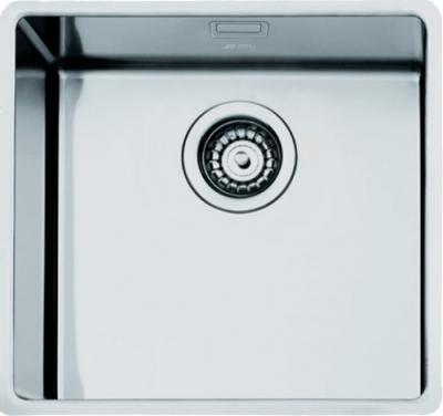 Мойка кухонная Smeg VSTR50 - вид сверху