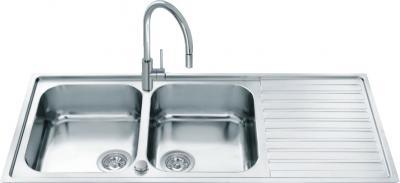 Мойка кухонная Smeg LLR116 - общий вид