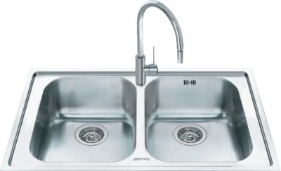 Мойка кухонная Smeg LL862 - общий вид