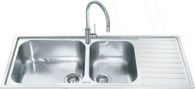 Мойка кухонная Smeg LG116D - общий вид