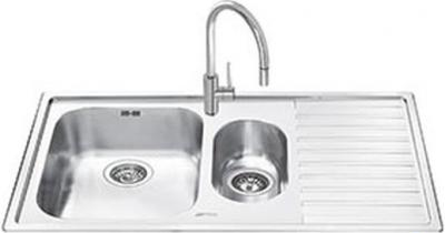 Мойка кухонная Smeg LM102D - общий вид