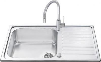 Мойка кухонная Smeg LGMR861 - общий вид