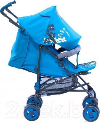 Детская прогулочная коляска Geoby D208R (R4TB) - вид сбоку