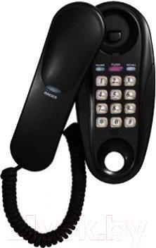 Проводной телефон Supra STL-112 (черный)