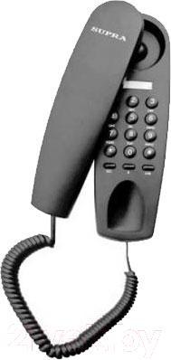 Проводной телефон Supra STL-120 (серый)