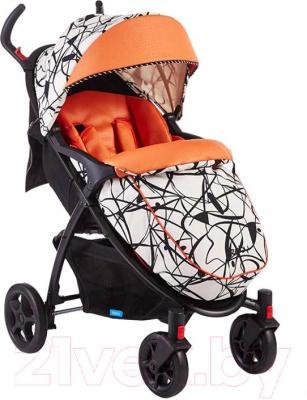 Детская прогулочная коляска Geoby C409M (W4FU)