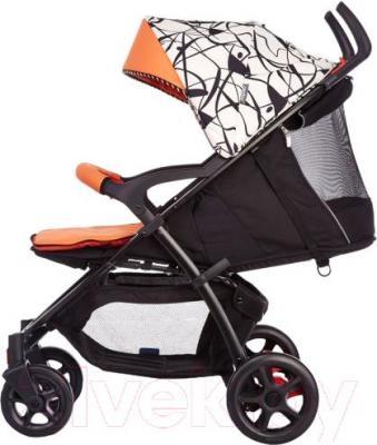 Детская прогулочная коляска Geoby C409M (W4FU) - вид сбоку