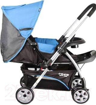 Детская прогулочная коляска Happy Dino LC288 (черно-серый) - модель в другом цвете