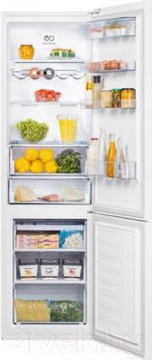 Холодильник с морозильником Beko RCNK365E20ZW