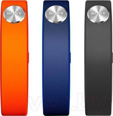 Комплект ремешков для фитнес-трекера Sony SWR110 Classic S (черный, синий, оранжевый)