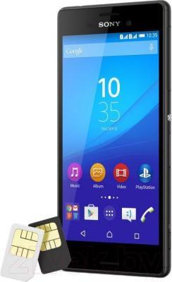 Смартфон Sony Xperia M4 Aqua Dual 4G / E2333 (черный)