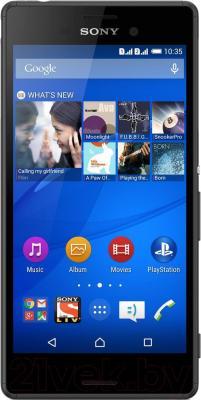 Смартфон Sony Xperia M4 Aqua Dual / E2312 (черный)