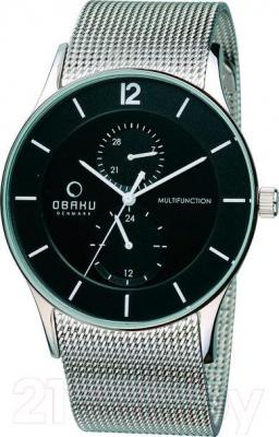 Часы мужские наручные Obaku V157GMCBMC