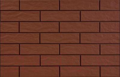 Фасад клинкерный Cerrad Burgund Рустик (245x65)