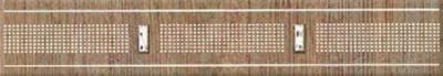 Бордюр Azori Оригами Табакко-Прагматика (278x50)