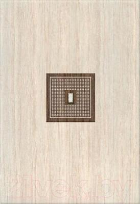 Декоративная плитка Azori Оригами Мокка-Прагматика (405x278)