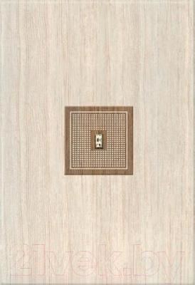 Декоративная плитка для ванной Azori Оригами Табакко-Прагматика (405x278)
