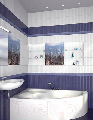 Декоративная плитка Azori Панно Gloss City (603x505)