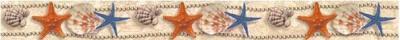 Бордюр для ванной Нефрит-Керамика Аликанте Бежевый (500x50)
