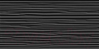 Плитка для стен ванной Нефрит-Керамика Кураж 2 (400x200, черный)
