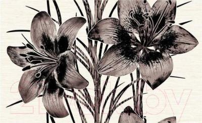 Декоративная плитка Нефрит-Керамика Piano 2 (400x250, коричневый)
