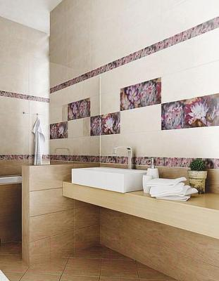 Декоративная плитка для ванной Azori Avellano Verano 2 (505x201)