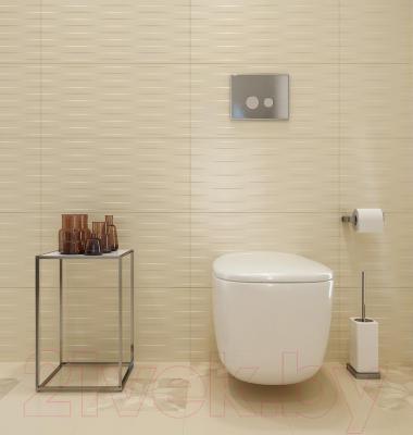 Плитка для стен ванной Opoczno Basic Palette White Satin Braid OP631-026-1 (600x297)