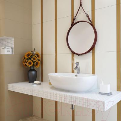 Бордюр для ванной Opoczno Basic Palette Mocca OD631-022 (600x48)