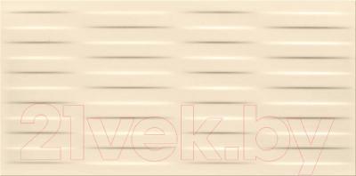 Плитка Opoczno Basic Palette Beige Satin Braid Structure OP631-028-1 (600x297)