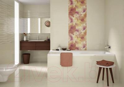 Плитка Opoczno Basic Palette Beige Glossy Wave Structure OP631-034-1 (600x297)