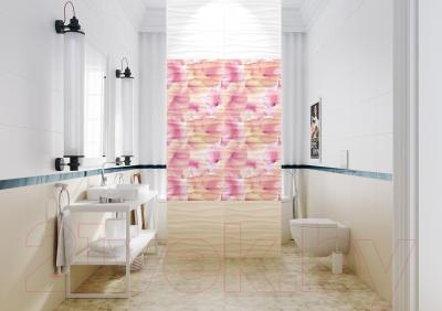 Декоративная плитка для ванной Opoczno Панно Basic Palette Flower Power Multicolour OD649-001 (600x594)