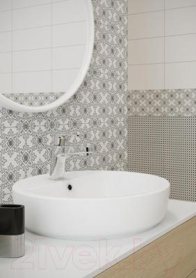 Декоративная плитка Opoczno Black&White Pattern F OP399-010-1 (500x200)