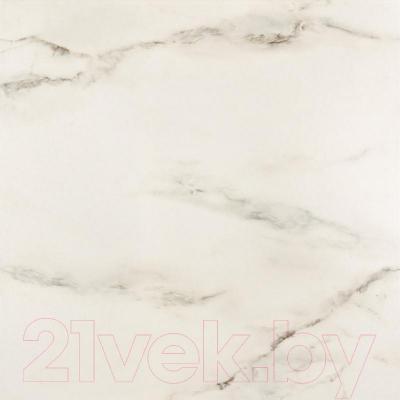 Плитка для пола ванной Opoczno Carrara White OP001-001-1 (593x593)