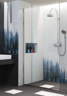 Плитка для пола ванной Opoczno Black&White Black Satin OP399-008-1 (333x333)
