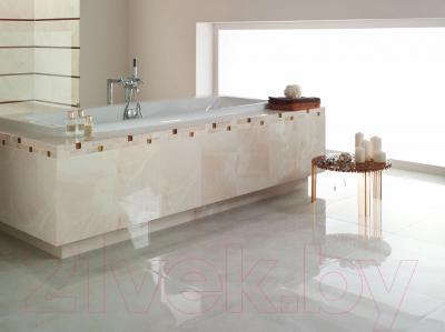 Плитка для пола ванной Opoczno Lazio Beige OP004-001-1 (593x593)