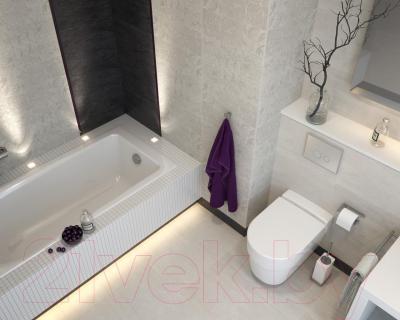 Бордюр для ванной Opoczno Desert Storm Red OD633-006 (450x20)
