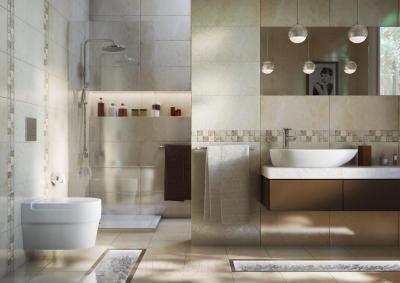 Бордюр для ванной Opoczno Avenue Beige Stone OD359-002 (297x48)