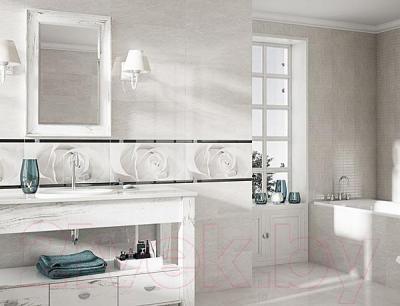 Декоративная плитка для ванной Opoczno Effecta Grey OD353-006 (600x297)