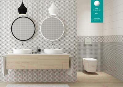 Декоративная плитка для ванной Opoczno Black&White Pattern B OP399-004-1 (500x200)