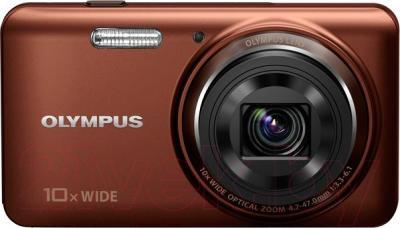 Компактный фотоаппарат Olympus VH-520 (коричневый)