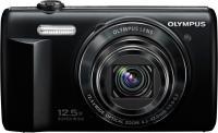 Компактный фотоаппарат Olympus VR-370 (черный) -