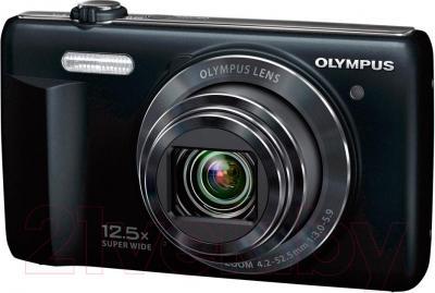 Компактный фотоаппарат Olympus VR-370 (черный)