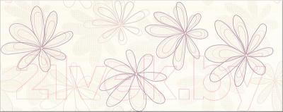 Декоративная плитка Opoczno Capri Fiolet Flower OD015-011 (500x200)