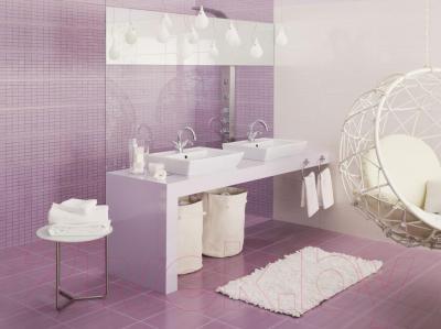 Бордюр для ванной Opoczno Capri Fiolet OD015-018 (500x25)