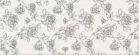 Декоративная плитка для ванной Opoczno Black&White Pattern C OP399-005-1 (500x200) -