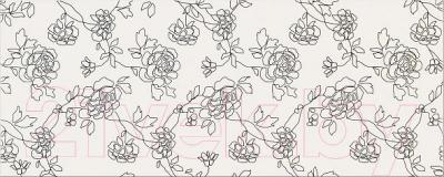Декоративная плитка для ванной Opoczno Black&White Pattern C OP399-005-1 (500x200)